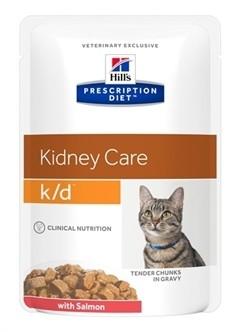 Hill's Prescription Diet Feline K/D Zalm 85 gram-0