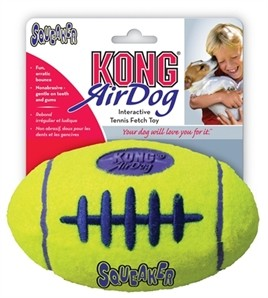KONG Air Squeaker Rugbybal Large-0