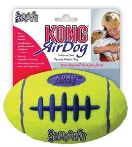 KONG Air Squeaker Rugbybal Medium-0