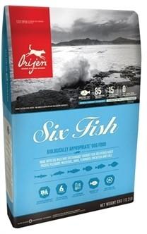 Orijen Six Fish Dogs 11,4 kg-0