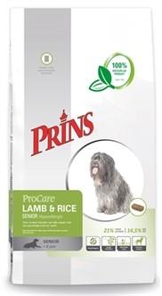 Prins Procare Lam en Rijst Senior Hypoallergeen 15kg-0