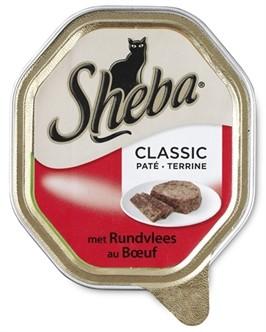 Sheba Alu Classic Pate Rund 85 gram-0