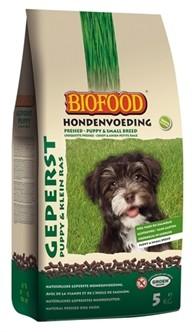 Biofood Geperst Puppy en kleine rassen 5kg-0