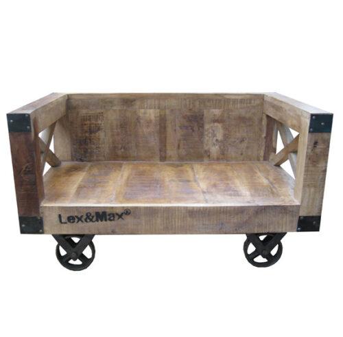 Hondenbank Vintage 120cm-0