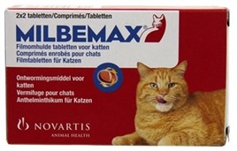 Milbemax Ontworming Kat Large 2x2 tabletten-0