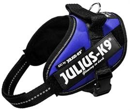 Julius K9 Power Harnas / Tuig Blauw Mini Mini 40-53cm-0