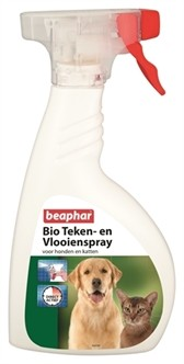 Beaphar Bio Teken & Vlooienspray 400ml-0