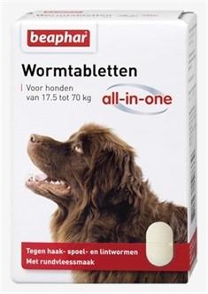 Beaphar Worm tabletten All in One 17,5 tot 70kg-0