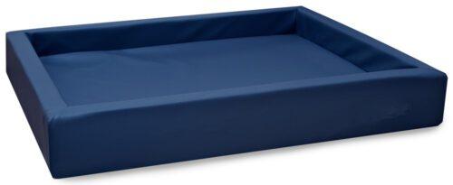 Hondenmand Lounge Bed Marineblauw-0