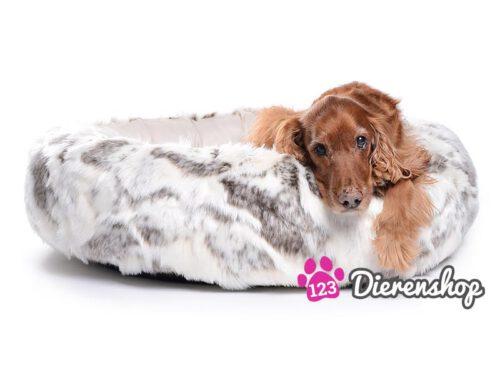 Hondenmand Eskimo Dream Fur Bruin / Crème-0