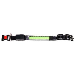 Led halsband groen 36 cm-0