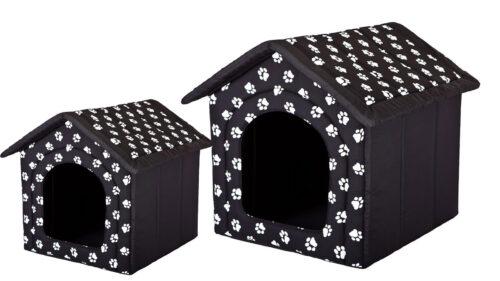 Hondenhuis My Paw Zwart 70 cm-0