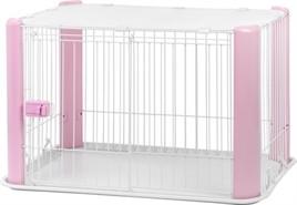 Puppyren Roze met Dak 92 cm-0