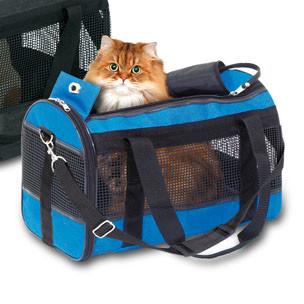 Honden / katten draagtas Divina Blauw-0