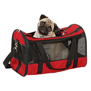 Honden / katten draagtas Divina Rood-0