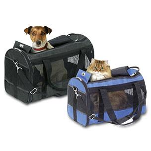 Honden / katten draagtas Divina Zwart-0