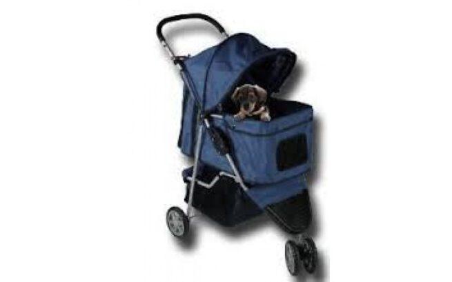 Hondenbuggy Donkerblauw-0