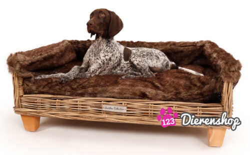 Hondenmand Rotan Fur Deluxe 90 cm-0