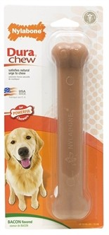 Nylabone Durable Chew Bacon tot 20 kg-0