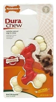 Nylabone Durable Chew Double Bend tot 5 kg-0