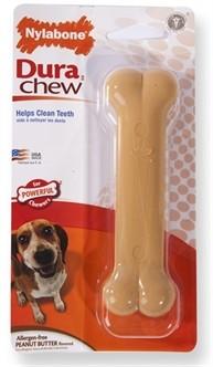 Nylabone Durable Chew Pindakaas tot 16 kg-0