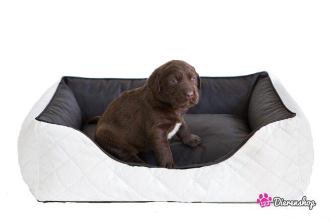 Hondenmand Indira Perfect Wit Zwart 125 cm-0