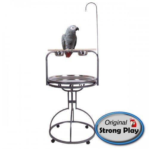 Papegaaien Speelstandaard Julia Grijs-0
