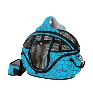 Hondentas Shopper Deluxe Blauw S-0