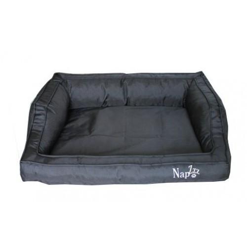 Hondenmand Napzzz Loungebed Oxford Zwart 60 cm-0