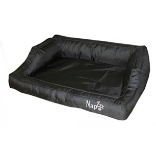 Hondenmand Napzzz Loungebed Oxford Zwart 80 cm-0