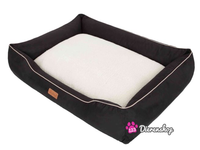 Hondenmand Indira Suedine Deluxe Zwart 95 cm-0