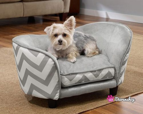 Hondensofa Snuggle Ultra Plush Chevron-0