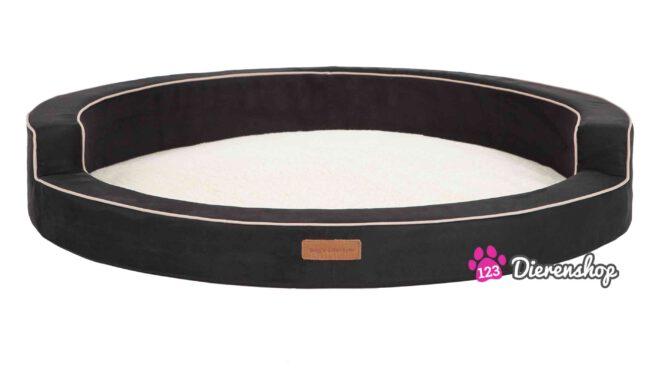 Hondenmand Indy Suedine Deluxe Zwart 60 cm-0