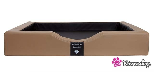 Orthopedische hondenmand Gelax Compact Style Nougat Bruin 100 cm-0