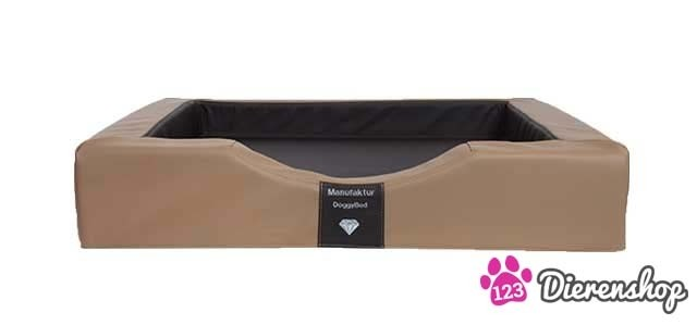 Orthopedische hondenmand Gelax Compact Style Nougat Bruin 80 cm-0