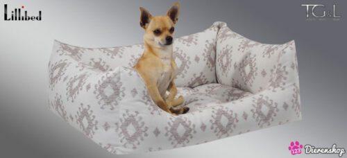 Hondenmand Lillibed® Classic Kelim Beige-0