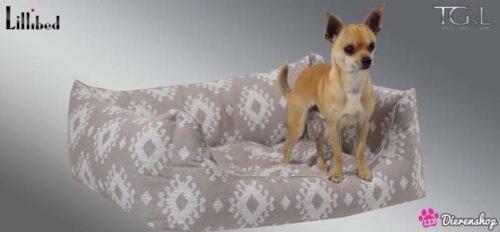 Hondenmand Lillibed® Classic Kelim Greige-0