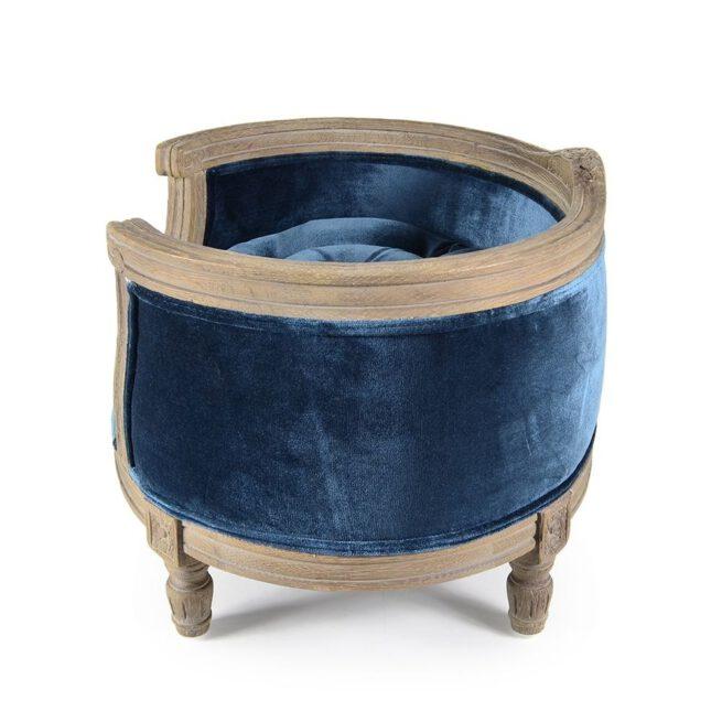 Hondenmand Lord Lou George Royal Blue Velvet Small-17147
