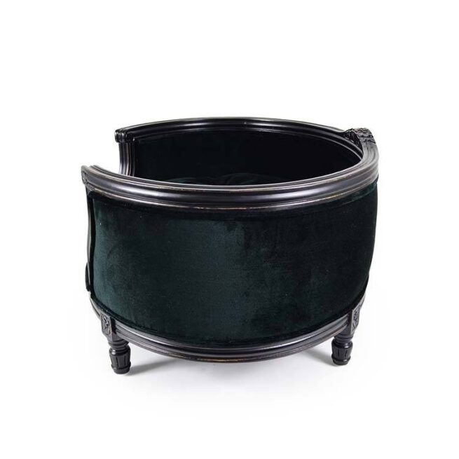 Hondenmand Lord Lou George Royal Black Velvet Medium-17169