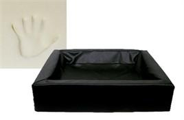 Hondenmand Bia Bed Orthopedisch Zwart 4 85 cm-0