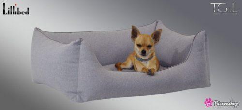 Hondenmand Lillibed® Flanell Lichtgrijs-0