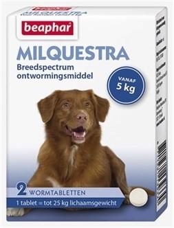 Beaphar Milquestra hond 2 tabletten-0