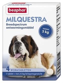 Beaphar Milquestra hond 4 tabletten-0