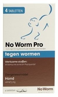 Exil No Worm Pro Large 2 Tabletten-0