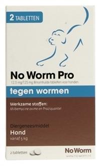 Exil No Worm Pro M 2 tabletten-0