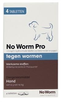 Exil No Worm Pro S 4 tabletten-0