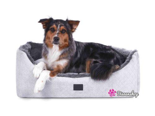 Hondenmand Eskimo Deluxe Zilver Antraciet-0