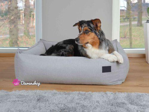 Hondenmand Luxery Plus Zilver-0