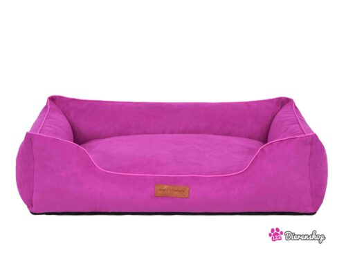 Hondenmand Indira Suedine Roze 65 cm-0