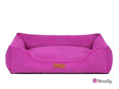 Hondenmand Indira Suedine Roze 95 cm -0